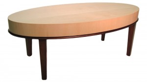 Austin Table with Two-Tone Finish