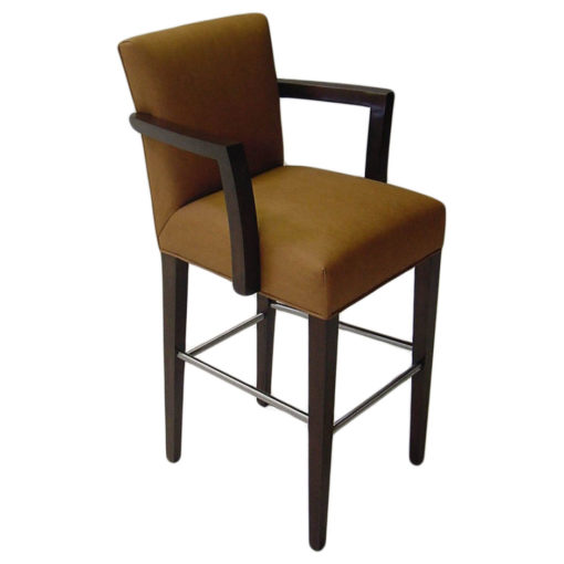 Clairmont barstool with arms