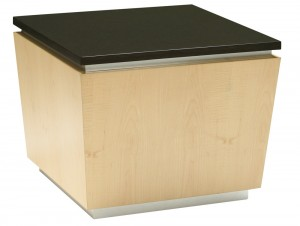 Erik Square Table with Black Granite Top