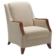 Gracie lounge chair with woodcaps