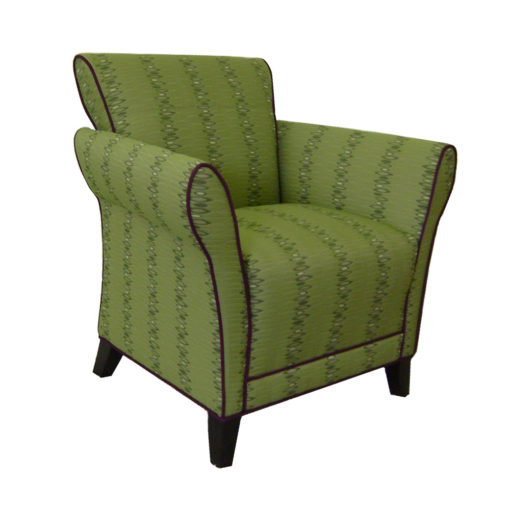 Clairmont Lounge Chair in Green
