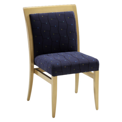 Dillon pullup with upholstered back