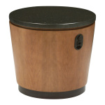 Erik round table with outlet