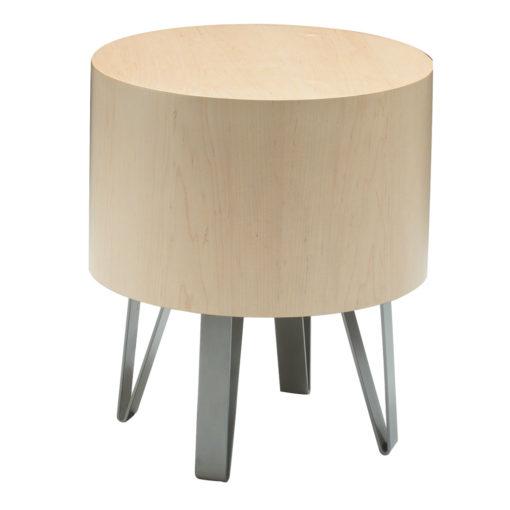 Java round drum table