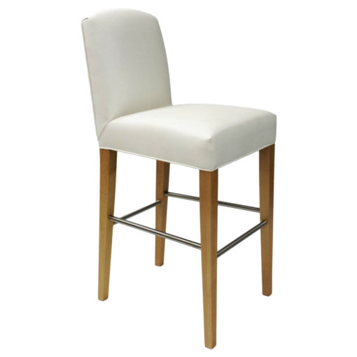 Navarro Barstool in White