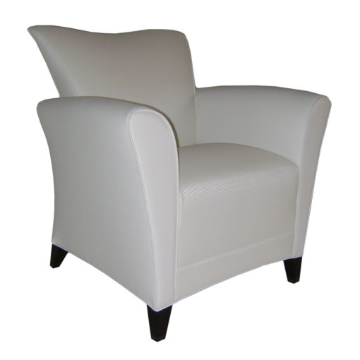 Rawlins Lounge Chair in White