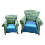 Royal Lounge with Matching Youth Chair