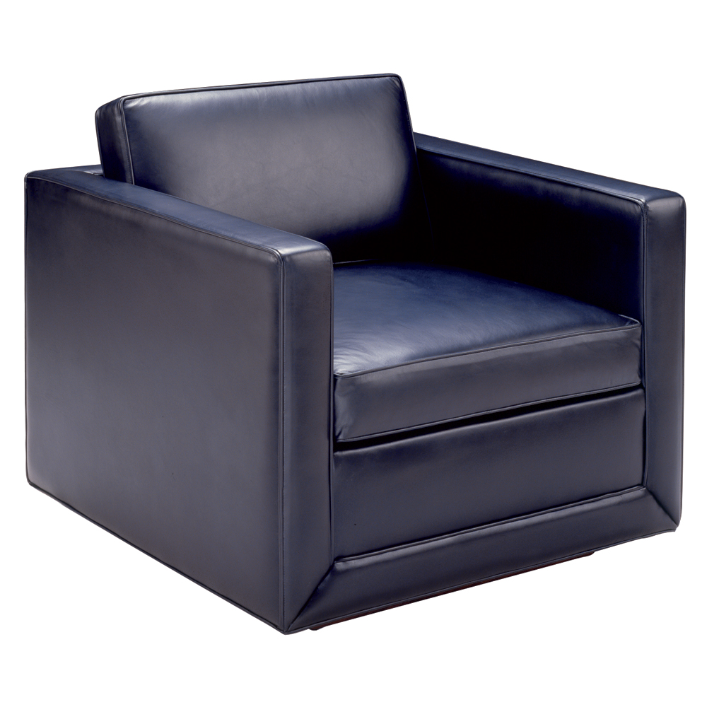 Tuxedo lounge chair