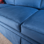 Couchbunker seat cushions up close