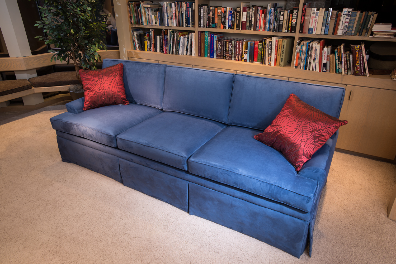 Couchbunker in a study