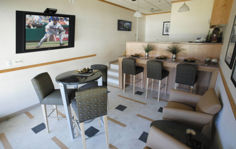 Texas Rangers Ballpark Suites