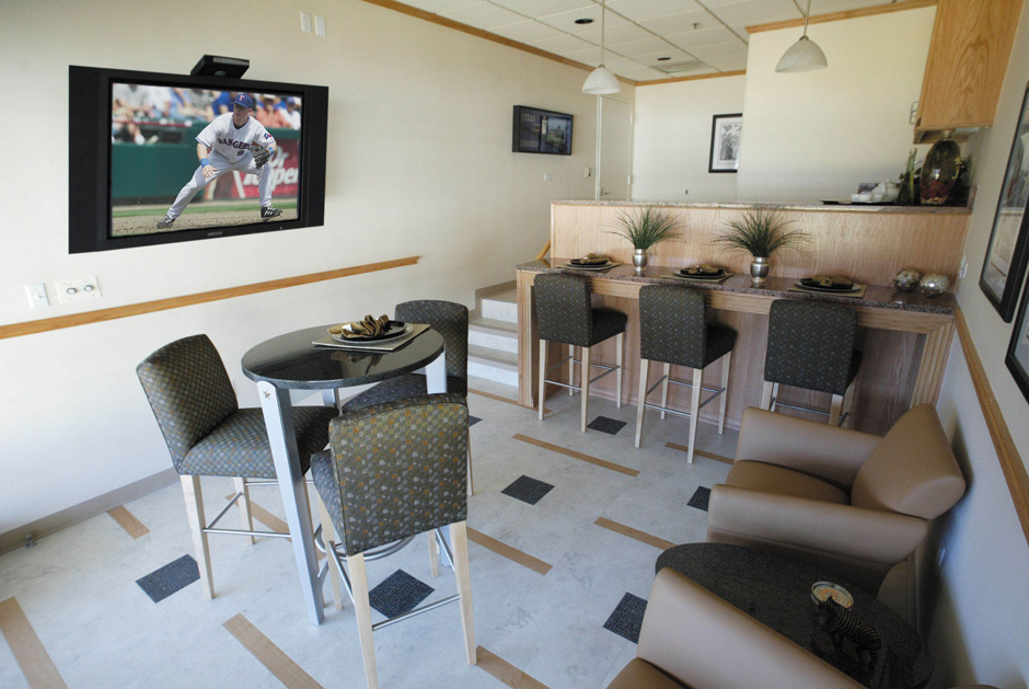 Texas Rangers Ballpark Suites